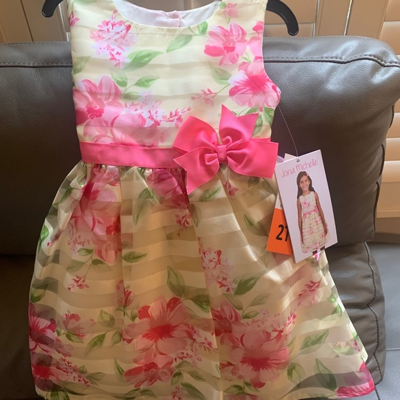Little Girls 2t Jona Michelle dress NWT